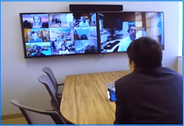 zoom видеоконференция